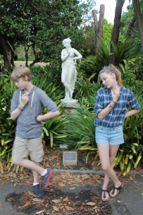 Statuesque at the Botanical Gardens